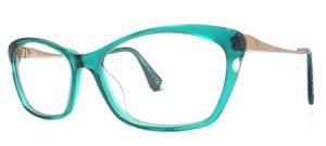 zielone okulary