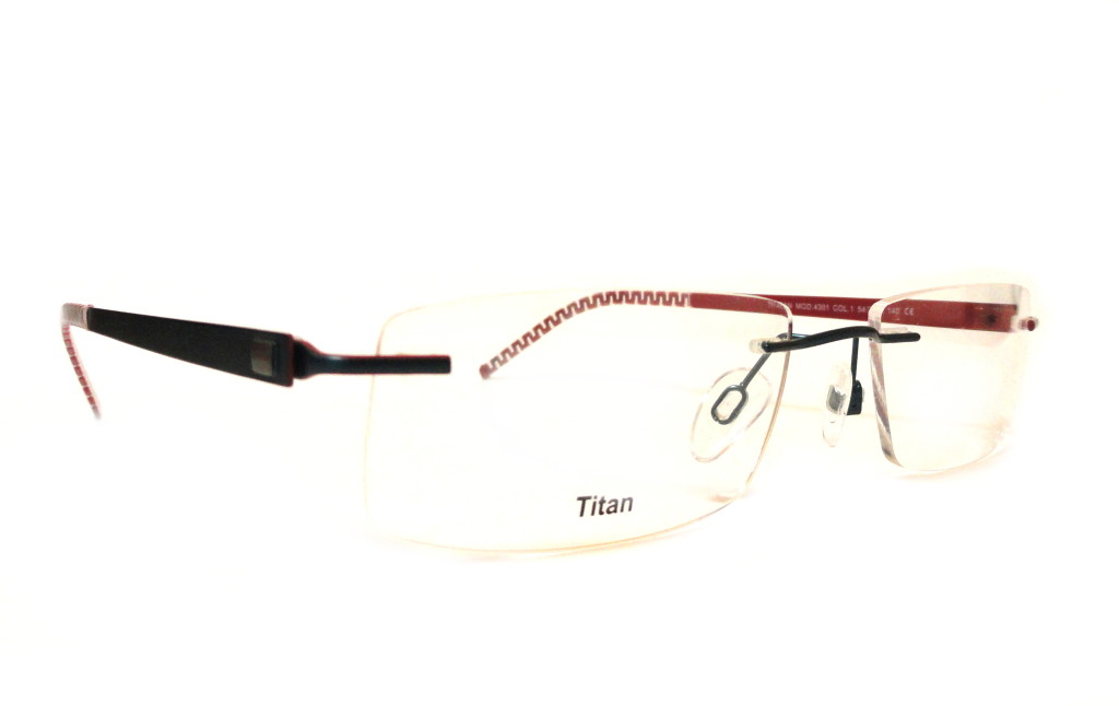 Okulary bezramkowe