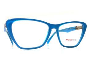 Niebieskie okulary z charakterem