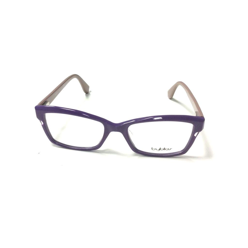 fioletowe okulary