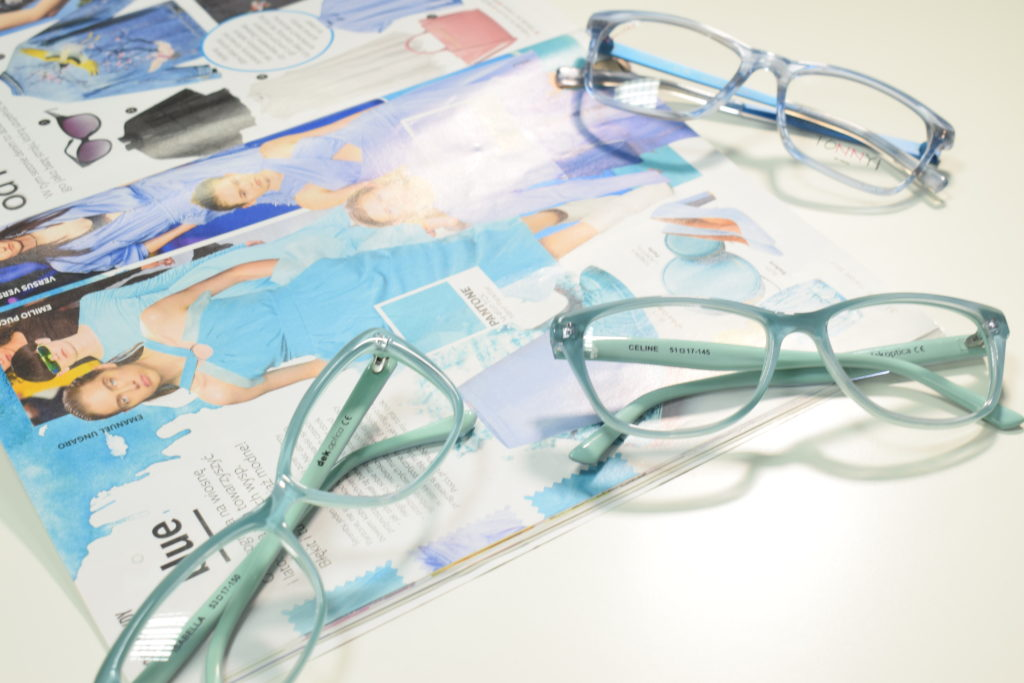Kolory Pantone okulary