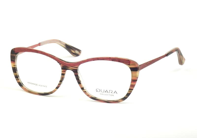 Pomarańczowe okulary Quara